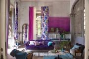 Фото 2 Фиолетовые шторы в интерьере (60+ фото): особенности настроения и выбор оттенков