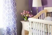 Фото 3 Фиолетовые шторы в интерьере: особенности настроения и выбор оттенков