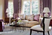 Фото 12 Фиолетовые шторы в интерьере (60+ фото): особенности настроения и выбор оттенков