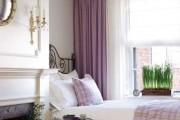 Фото 4 Фиолетовые шторы в интерьере: особенности настроения и выбор оттенков