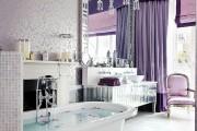 Фото 13 Фиолетовые шторы в интерьере: особенности настроения и выбор оттенков