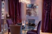 Фото 15 Фиолетовые шторы в интерьере: особенности настроения и выбор оттенков
