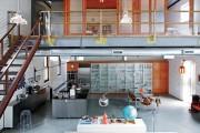 Фото 1 Двухуровневые квартиры: особенности оформления и планировки
