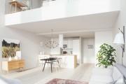 Фото 3 Двухуровневые квартиры: особенности оформления и планировки