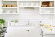 Фото 31 Керамическая плитка для кухни на фартук: особенности выбора и оформления