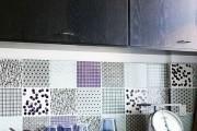 Фото 22 Керамическая плитка для кухни на фартук: особенности выбора и оформления