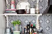 Фото 12 Керамическая плитка для кухни на фартук: особенности выбора и оформления