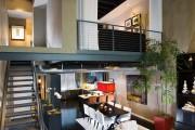 Фото 2 Двухуровневые квартиры: особенности оформления и планировки