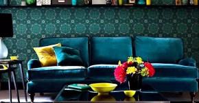 Изумрудный цвет в интерьере (72 фото): благородство и изысканность фото