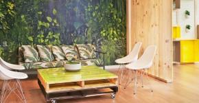 Мебель из поддонов (фото): экологично и оригинально фото