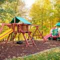 Детская площадка на даче своими руками (56 фото): безопасно, весело и полезно фото