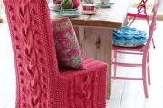 Фото 12 Чехлы на стулья (43 фото): функциональное и оригинальное украшение мебели