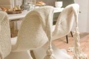 Фото 10 Чехлы на стулья (43 фото): функциональное и оригинальное украшение мебели