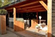 Фото 6 Баня с беседкой под одной крышей (проекты, фото): выгодно, функционально и эстетично