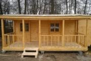 Фото 10 Баня с беседкой под одной крышей (проекты, фото): выгодно, функционально и эстетично