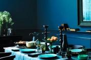 Фото 3 Цвет индиго (77 фото): интерьер цвета тайны
