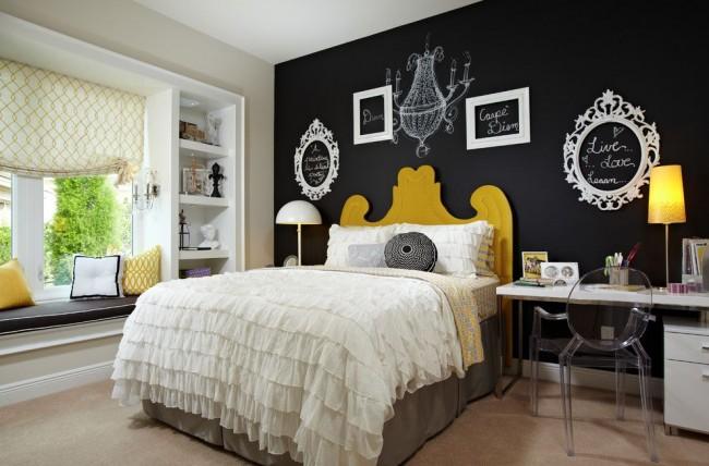 Айвори смягчает строгость черного цвета, создавая настоящую гармонию