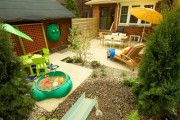 Фото 10 Детская площадка на даче своими руками (56 фото): безопасно, весело и полезно
