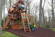 Фото 19 Детская площадка на даче своими руками (56 фото): безопасно, весело и полезно