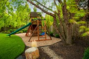 Фото 7 Детская площадка на даче своими руками (56 фото): безопасно, весело и полезно