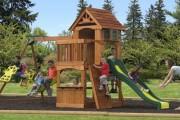 Фото 14 Детская площадка на даче своими руками (56 фото): безопасно, весело и полезно