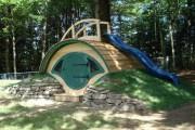 Фото 17 Детская площадка на даче своими руками (56 фото): безопасно, весело и полезно