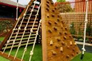 Фото 6 Детская площадка на даче своими руками (56 фото): безопасно, весело и полезно
