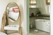 Фото 15 Двери для туалета и ванной комнаты (44 фото): особенности установки, подбор конструкции и материалов