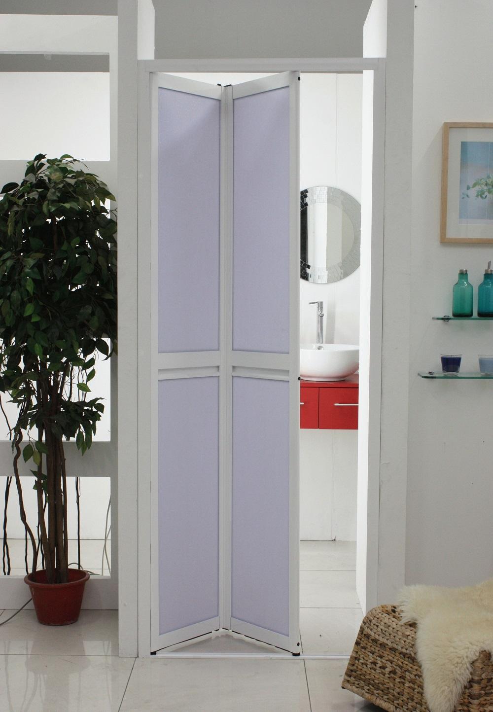 Складывающиеся двери из 2-ух ламелей