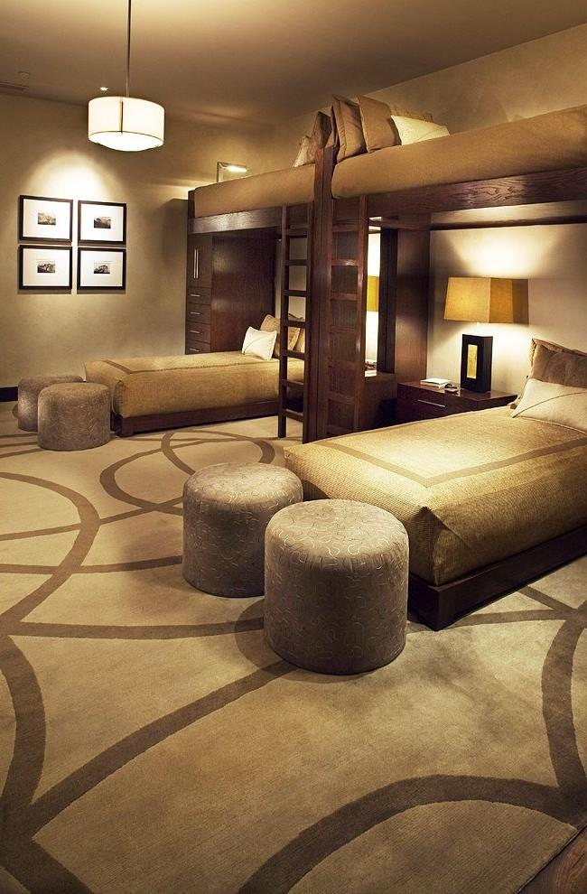 Напольное покрытие обязательно следует учитывать, покупая такую кровать