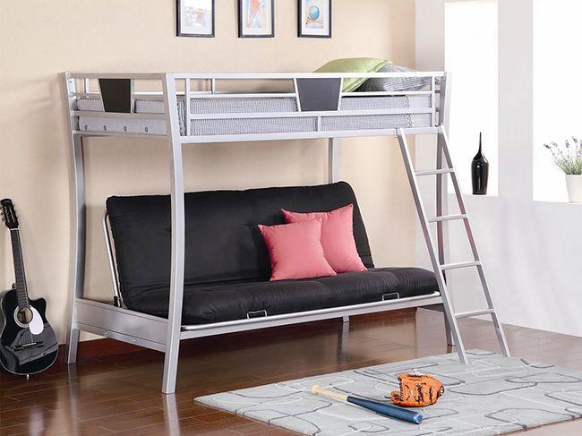 Стильная и изящная металлическая кровать