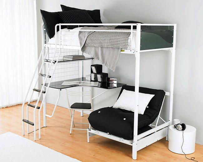 Кровать-чердак - стильно и функционально