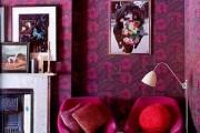 Фото 5 Цвет фуксия в интерьере (95 фото): жизнерадостно, динамично, позитивно