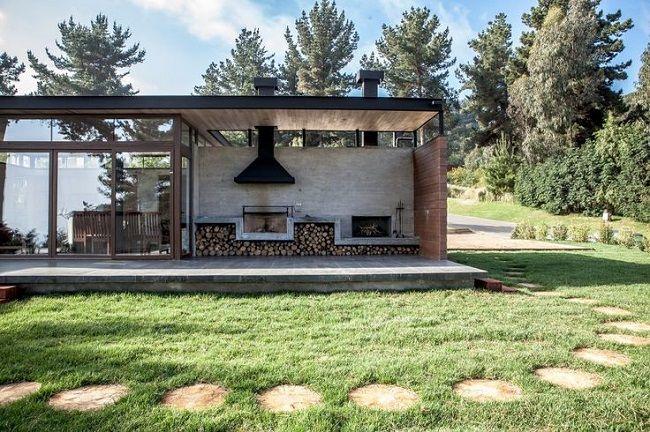 Мангалы и барбекю для дачи под крышей