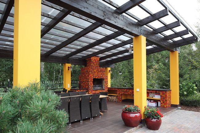 Мангал из кирпича – это достаточно дорогая основательная конструкция