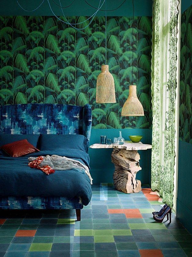 Зелень джунглей и синь океана в одной комнате