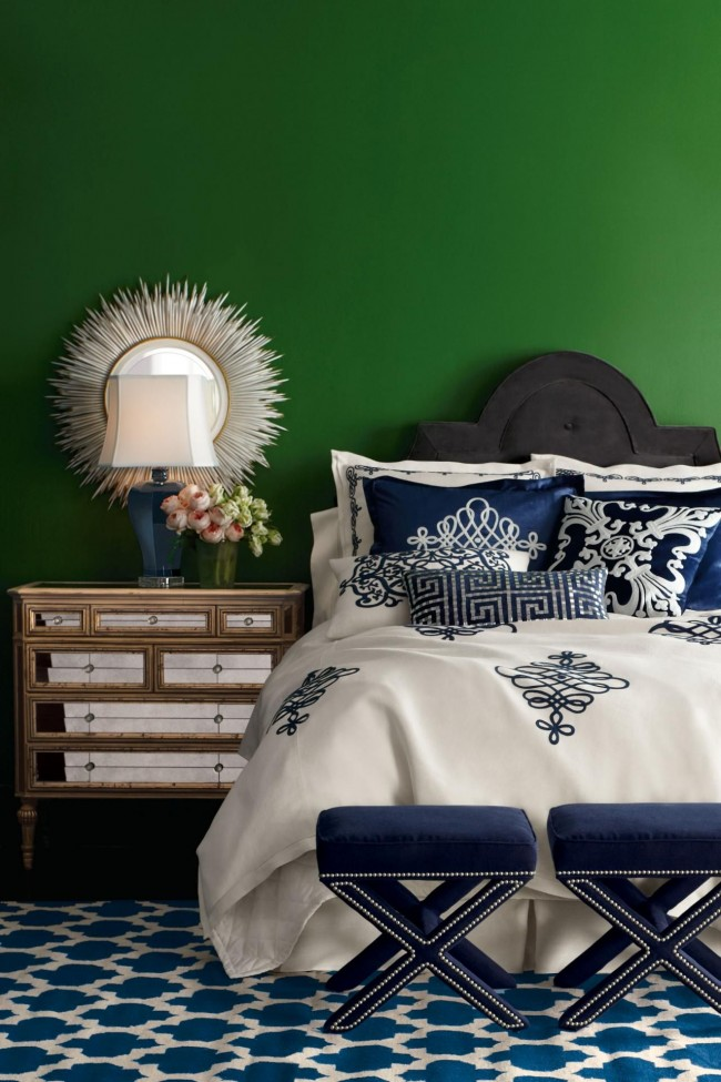 Зеленый и синий - глубина и роскошь цвета