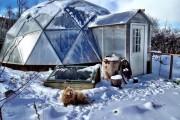 Фото 2 Купольные дома (64 фото): новое слово в строительстве или архитектурное безумие