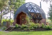 Фото 21 Купольные дома (64 фото): новое слово в строительстве или архитектурное безумие