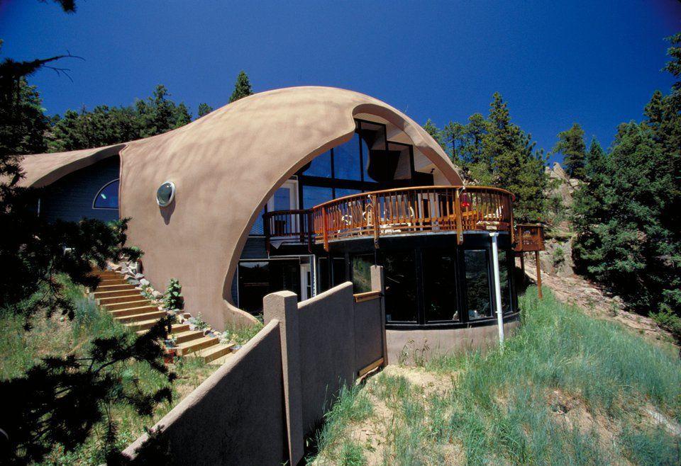 Купольный дом с обрезанным фасадом