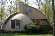 Фото 23 Купольные дома (64 фото): новое слово в строительстве или архитектурное безумие