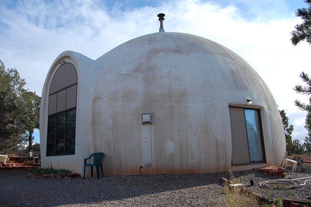 Купольный дом своими руками из пенопласта за 3 дня 64