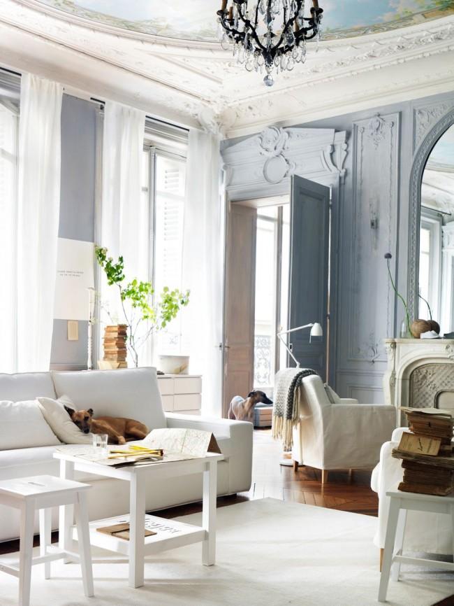 Лепнина из полиуретана в интерьере поможет создать изысканную атмосферу в любом доме