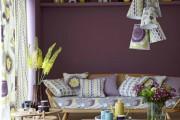 Фото 4 Лиловый цвет в интерьере (56 фото): тонкости значения и использования