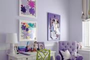 Фото 32 Лиловый цвет в интерьере (56 фото): тонкости значения и использования