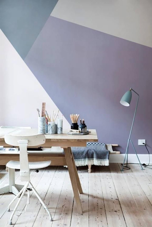 Дизайн с покраской стен фото