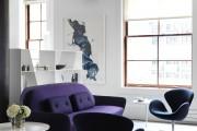 Фото 13 Лиловый цвет в интерьере (56 фото): тонкости значения и использования