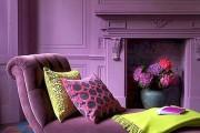 Фото 2 Лиловый цвет в интерьере (56 фото): тонкости значения и использования