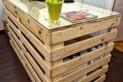Фото 5 Мебель из поддонов (фото): экологично и оригинально