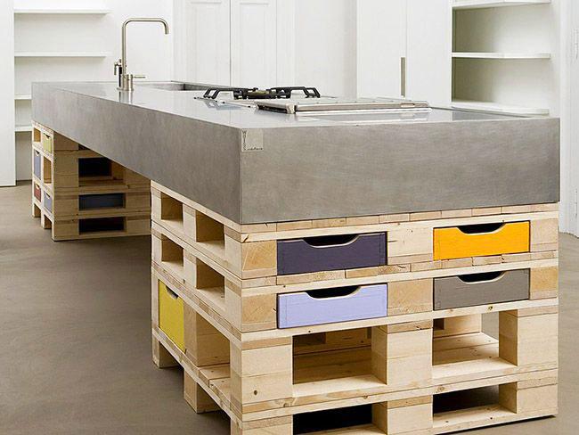 Мебель из поддонов может быть стильной и модной